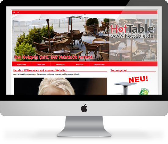 Website Hot Table