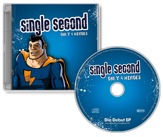 CD Cover Single Second