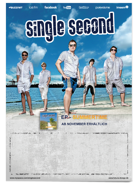 Plakat Single Second